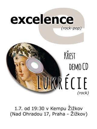 Lukrecie a Excelence v Culture Camp Zizkov Prague