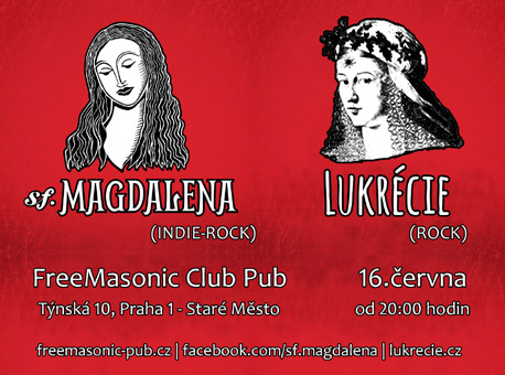 Lukrécie a sf.Magdalena ve FreeMasonicu